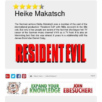 Heike Makatsch - Media & News