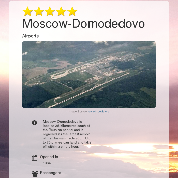 Moscow-Domodedovo - Other
