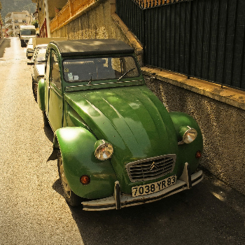 Citroën 2CV - Car & Motorcycle