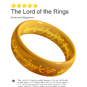 The Lord of the Rings - Magazines & Books