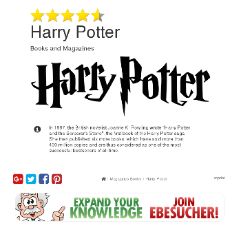 Harry Potter - Magazines & Books