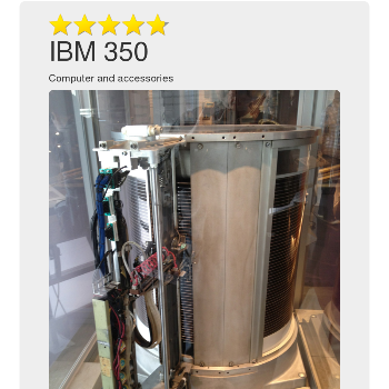 IBM 350 - Computers & Accessories