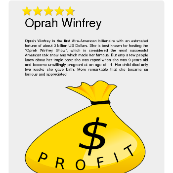 Oprah Winfrey - Media & News