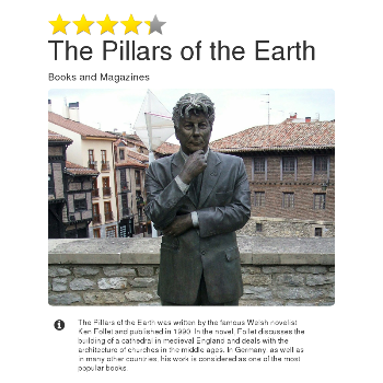 The Pillars of the Earth - Magazines & Books