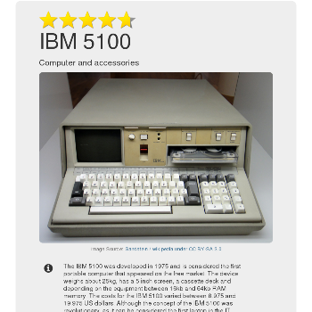 IBM 5100 - Computers & Accessories
