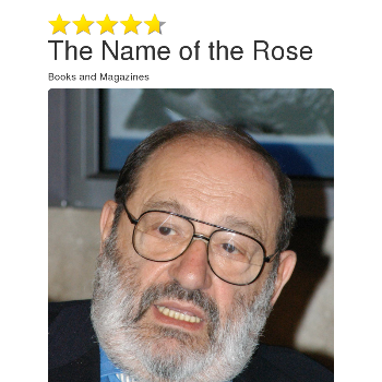 The Name of the Rose - Magazines & Books