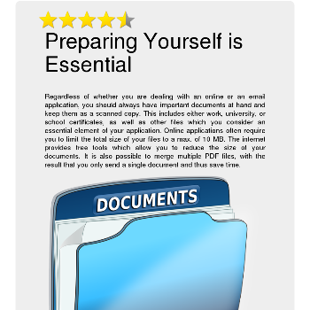 Preparing Yourself is Essential - Jobs & Business