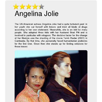 Angelina Jolie - Media & News