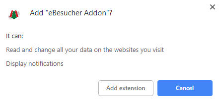 Give permissions to Chrome